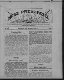 """Nasz Przyjaciel : dodatek tygodniowy """"Głosu Wąbrzeskiego"""" poświęcony sprawom oświatowym, kulturalnym i literackim 1930.01.18, R. 8[!], nr 3"""