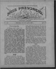 """Nasz Przyjaciel : dodatek tygodniowy """"Głosu Wąbrzeskiego"""" poświęcony sprawom oświatowym, kulturalnym i literackim 1930.01.25, R. 8[!], nr 4"""