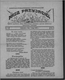 """Nasz Przyjaciel : dodatek tygodniowy """"Głosu Wąbrzeskiego"""" poświęcony sprawom oświatowym, kulturalnym i literackim 1930.01.31, R. 8[!], nr 5"""