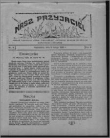 """Nasz Przyjaciel : dodatek tygodniowy """"Głosu Wąbrzeskiego"""" poświęcony sprawom oświatowym, kulturalnym i literackim 1930.02.08, R. 8[!], nr 6"""