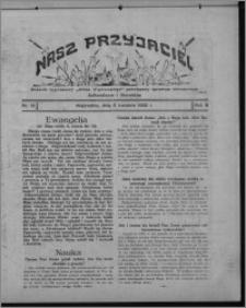 """Nasz Przyjaciel : dodatek tygodniowy """"Głosu Wąbrzeskiego"""" poświęcony sprawom oświatowym, kulturalnym i literackim 1930.04.05, R. 8[!], nr 14"""