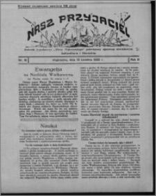 """Nasz Przyjaciel : dodatek tygodniowy """"Głosu Wąbrzeskiego"""" poświęcony sprawom oświatowym, kulturalnym i literackim 1930.04.19, R. 8[!], nr 16"""