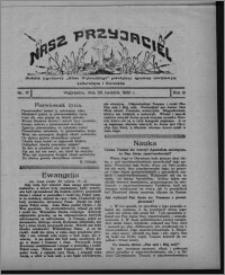 """Nasz Przyjaciel : dodatek tygodniowy """"Głosu Wąbrzeskiego"""" poświęcony sprawom oświatowym, kulturalnym i literackim 1930.04.26, R. 8[!], nr 17"""