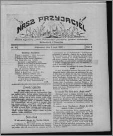 """Nasz Przyjaciel : dodatek tygodniowy """"Głosu Wąbrzeskiego"""" poświęcony sprawom oświatowym, kulturalnym i literackim 1930.05.03, R. 8[!], nr 18"""