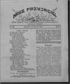 """Nasz Przyjaciel : dodatek tygodniowy """"Głosu Wąbrzeskiego"""" poświęcony sprawom oświatowym, kulturalnym i literackim 1930.05.31, R. 8[!], nr 22"""