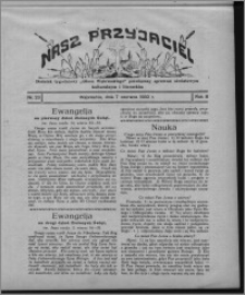 """Nasz Przyjaciel : dodatek tygodniowy """"Głosu Wąbrzeskiego"""" poświęcony sprawom oświatowym, kulturalnym i literackim 1930.06.07, R. 8[!], nr 23"""