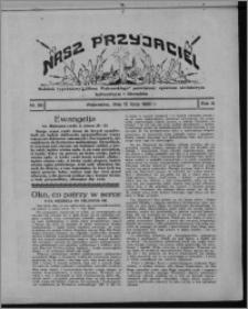 """Nasz Przyjaciel : dodatek tygodniowy """"Głosu Wąbrzeskiego"""" poświęcony sprawom oświatowym, kulturalnym i literackim 1930.07.12, R. 8[!], nr 28"""