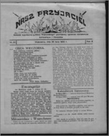 """Nasz Przyjaciel : dodatek tygodniowy """"Głosu Wąbrzeskiego"""" poświęcony sprawom oświatowym, kulturalnym i literackim 1930.07.26, R. 8[!], nr 30"""