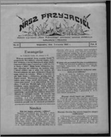 """Nasz Przyjaciel : dodatek tygodniowy """"Głosu Wąbrzeskiego"""" poświęcony sprawom oświatowym, kulturalnym i literackim 1930.08.02, R. 8[!], nr 31"""
