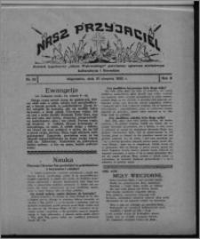"""Nasz Przyjaciel : dodatek tygodniowy """"Głosu Wąbrzeskiego"""" poświęcony sprawom oświatowym, kulturalnym i literackim 1930.08.16, R. 8[!], nr 33"""