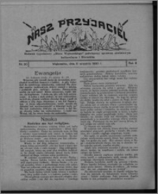 """Nasz Przyjaciel : dodatek tygodniowy """"Głosu Wąbrzeskiego"""" poświęcony sprawom oświatowym, kulturalnym i literackim 1930.09.06, R. 8[!], nr 36"""