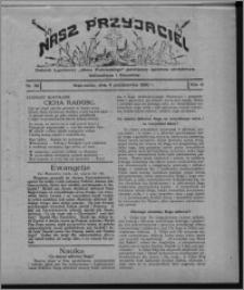 """Nasz Przyjaciel : dodatek tygodniowy """"Głosu Wąbrzeskiego"""" poświęcony sprawom oświatowym, kulturalnym i literackim 1930.10.04, R. 8[!], nr 39"""