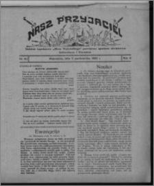 """Nasz Przyjaciel : dodatek tygodniowy """"Głosu Wąbrzeskiego"""" poświęcony sprawom oświatowym, kulturalnym i literackim 1930.10.11, R. 8[!], nr 40"""