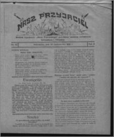 """Nasz Przyjaciel : dodatek tygodniowy """"Głosu Wąbrzeskiego"""" poświęcony sprawom oświatowym, kulturalnym i literackim 1930.10.25, R. 8[!], nr 42"""
