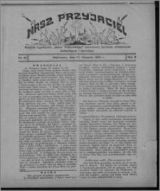 """Nasz Przyjaciel : dodatek tygodniowy """"Głosu Wąbrzeskiego"""" poświęcony sprawom oświatowym, kulturalnym i literackim 1930.11.22, R. 8[!], nr 46"""
