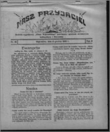 """Nasz Przyjaciel : dodatek tygodniowy """"Głosu Wąbrzeskiego"""" poświęcony sprawom oświatowym, kulturalnym i literackim 1930.12.06, R. 8[!], nr 48"""