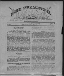 """Nasz Przyjaciel : dodatek tygodniowy """"Głosu Wąbrzeskiego"""" poświęcony sprawom oświatowym, kulturalnym i literackim 1930.12.13, R. 8[!], nr 49"""