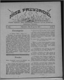 """Nasz Przyjaciel : dodatek tygodniowy """"Głosu Wąbrzeskiego"""" poświęcony sprawom oświatowym, kulturalnym i literackim 1930.12.20, R. 8[!], nr 50"""
