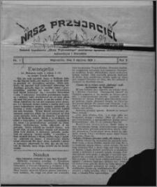 """Nasz Przyjaciel : dodatek tygodniowy """"Głosu Wąbrzeskiego"""" poświęcony sprawom oświatowym, kulturalnym i literackim 1931.01.03, R. 9, nr 1"""
