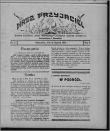 """Nasz Przyjaciel : dodatek tygodniowy """"Głosu Wąbrzeskiego"""" poświęcony sprawom oświatowym, kulturalnym i literackim 1931.01.31, R. 9, nr 5"""