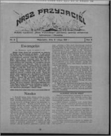 """Nasz Przyjaciel : dodatek tygodniowy """"Głosu Wąbrzeskiego"""" poświęcony sprawom oświatowym, kulturalnym i literackim 1931.02.21, R. 9, nr 8"""