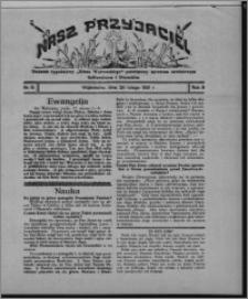 """Nasz Przyjaciel : dodatek tygodniowy """"Głosu Wąbrzeskiego"""" poświęcony sprawom oświatowym, kulturalnym i literackim 1931.02.28, R. 9, nr 9"""