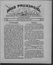 """Nasz Przyjaciel : dodatek tygodniowy """"Głosu Wąbrzeskiego"""" poświęcony sprawom oświatowym, kulturalnym i literackim 1931.03.07, R. 9, nr 10"""