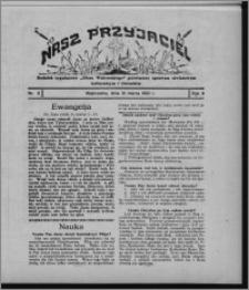 """Nasz Przyjaciel : dodatek tygodniowy """"Głosu Wąbrzeskiego"""" poświęcony sprawom oświatowym, kulturalnym i literackim 1931.03.14, R. 9, nr 11"""