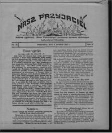 """Nasz Przyjaciel : dodatek tygodniowy """"Głosu Wąbrzeskiego"""" poświęcony sprawom oświatowym, kulturalnym i literackim 1931.04.11, R. 9, nr 15"""