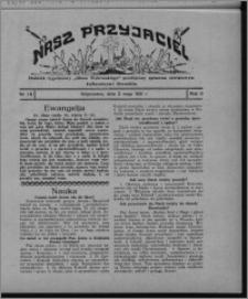 """Nasz Przyjaciel : dodatek tygodniowy """"Głosu Wąbrzeskiego"""" poświęcony sprawom oświatowym, kulturalnym i literackim 1931.05.02, R. 9, nr 18"""