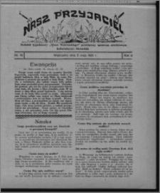 """Nasz Przyjaciel : dodatek tygodniowy """"Głosu Wąbrzeskiego"""" poświęcony sprawom oświatowym, kulturalnym i literackim 1931.05.09, R. 9, nr 19"""