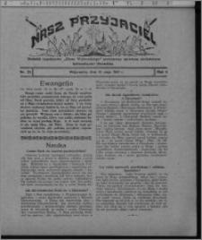 """Nasz Przyjaciel : dodatek tygodniowy """"Głosu Wąbrzeskiego"""" poświęcony sprawom oświatowym, kulturalnym i literackim 1931.05.16, R. 9, nr 20"""