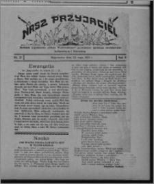 """Nasz Przyjaciel : dodatek tygodniowy """"Głosu Wąbrzeskiego"""" poświęcony sprawom oświatowym, kulturalnym i literackim 1931.05.23, R. 9, nr 21"""