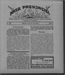 """Nasz Przyjaciel : dodatek tygodniowy """"Głosu Wąbrzeskiego"""" poświęcony sprawom oświatowym, kulturalnym i literackim 1931.05.30, R. 9, nr 22"""