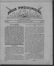 """Nasz Przyjaciel : dodatek tygodniowy """"Głosu Wąbrzeskiego"""" poświęcony sprawom oświatowym, kulturalnym i literackim 1931.06.06, R. 9, nr 23"""