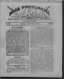 """Nasz Przyjaciel : dodatek tygodniowy """"Głosu Wąbrzeskiego"""" poświęcony sprawom oświatowym, kulturalnym i literackim 1931.06.20, R. 9, nr 25"""