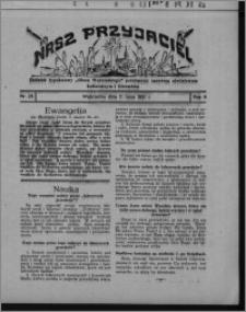 """Nasz Przyjaciel : dodatek tygodniowy """"Głosu Wąbrzeskiego"""" poświęcony sprawom oświatowym, kulturalnym i literackim 1931.07.11, R. 9, nr 28"""