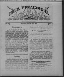 """Nasz Przyjaciel : dodatek tygodniowy """"Głosu Wąbrzeskiego"""" poświęcony sprawom oświatowym, kulturalnym i literackim 1931.07.18, R. 9, nr 29"""