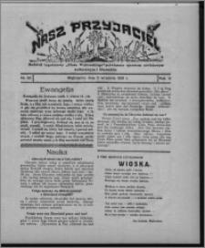 """Nasz Przyjaciel : dodatek tygodniowy """"Głosu Wąbrzeskiego"""" poświęcony sprawom oświatowym, kulturalnym i literackim 1931.09.05, R. 9, nr 36"""