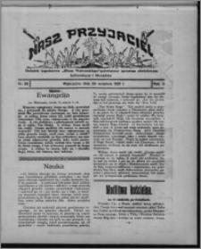 """Nasz Przyjaciel : dodatek tygodniowy """"Głosu Wąbrzeskiego"""" poświęcony sprawom oświatowym, kulturalnym i literackim 1931.09.26, R. 9, nr 39"""