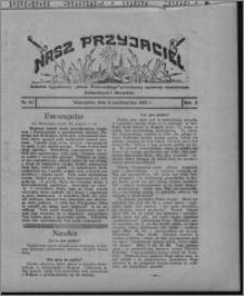 """Nasz Przyjaciel : dodatek tygodniowy """"Głosu Wąbrzeskiego"""" poświęcony sprawom oświatowym, kulturalnym i literackim 1931.10.03, R. 9, nr 40"""