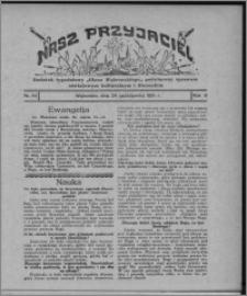 """Nasz Przyjaciel : dodatek tygodniowy """"Głosu Wąbrzeskiego"""" poświęcony sprawom oświatowym, kulturalnym i literackim 1931.10.24, R. 9, nr 44 [i.e. 43]"""