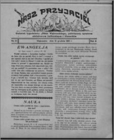 """Nasz Przyjaciel : dodatek tygodniowy """"Głosu Wąbrzeskiego"""" poświęcony sprawom oświatowym, kulturalnym i literackim 1931.12.12, R. 9, nr 51 [i.e. 50]"""