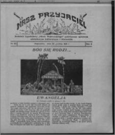 """Nasz Przyjaciel : dodatek tygodniowy """"Głosu Wąbrzeskiego"""" poświęcony sprawom oświatowym, kulturalnym i literackim 1931.12.26, R. 9, nr 53 [i.e. 52]"""