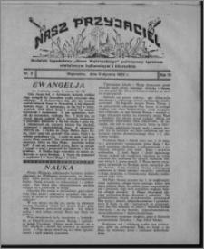 """Nasz Przyjaciel : dodatek tygodniowy """"Głosu Wąbrzeskiego"""" poświęcony sprawom oświatowym, kulturalnym i literackim 1932.01.09, R. 10, nr 2"""