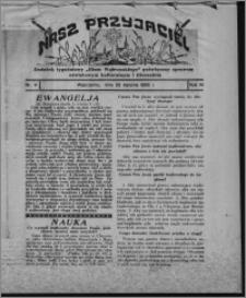 """Nasz Przyjaciel : dodatek tygodniowy """"Głosu Wąbrzeskiego"""" poświęcony sprawom oświatowym, kulturalnym i literackim 1932.01.23, R. 10, nr 4"""