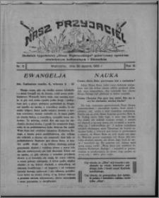 """Nasz Przyjaciel : dodatek tygodniowy """"Głosu Wąbrzeskiego"""" poświęcony sprawom oświatowym, kulturalnym i literackim 1932.01.30, R. 10, nr 5"""