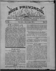 """Nasz Przyjaciel : dodatek tygodniowy """"Głosu Wąbrzeskiego"""" poświęcony sprawom oświatowym, kulturalnym i literackim 1932.02.06, R. 10, nr 6"""