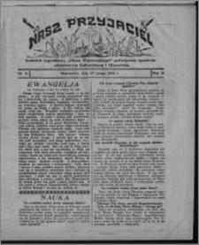 """Nasz Przyjaciel : dodatek tygodniowy """"Głosu Wąbrzeskiego"""" poświęcony sprawom oświatowym, kulturalnym i literackim 1932.02.27, R. 10, nr 9"""