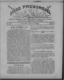 """Nasz Przyjaciel : dodatek tygodniowy """"Głosu Wąbrzeskiego"""" poświęcony sprawom oświatowym, kulturalnym i literackim 1932.03.05, R. 10, nr 10"""